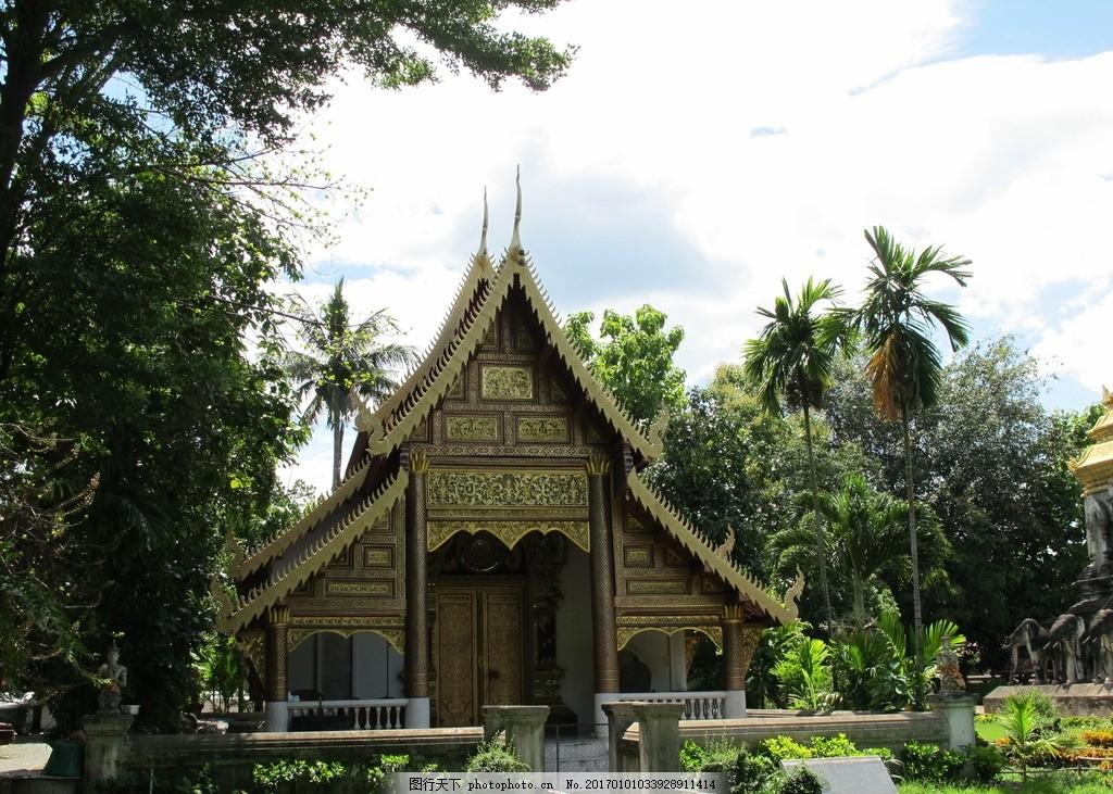 泰国清曼寺 清曼寺 泰国 泰国风光 泰国风情 泰国风景 泰国建筑 泰国