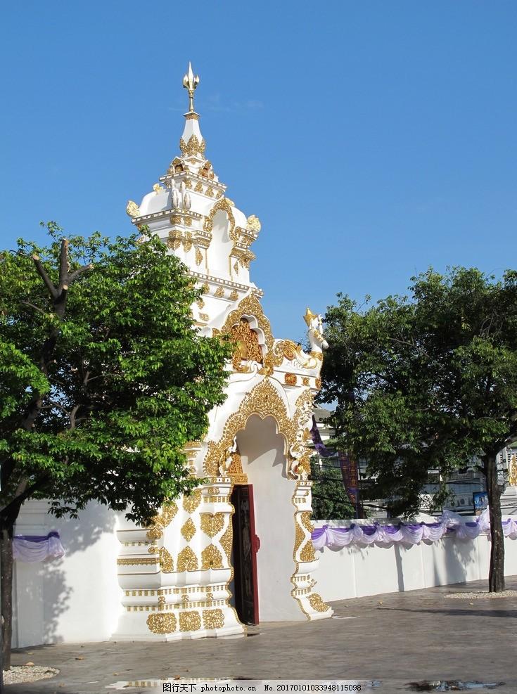 泰国帕辛寺 帕辛寺 泰国 泰国风光 泰国风情 泰国风景 泰国建筑 泰国