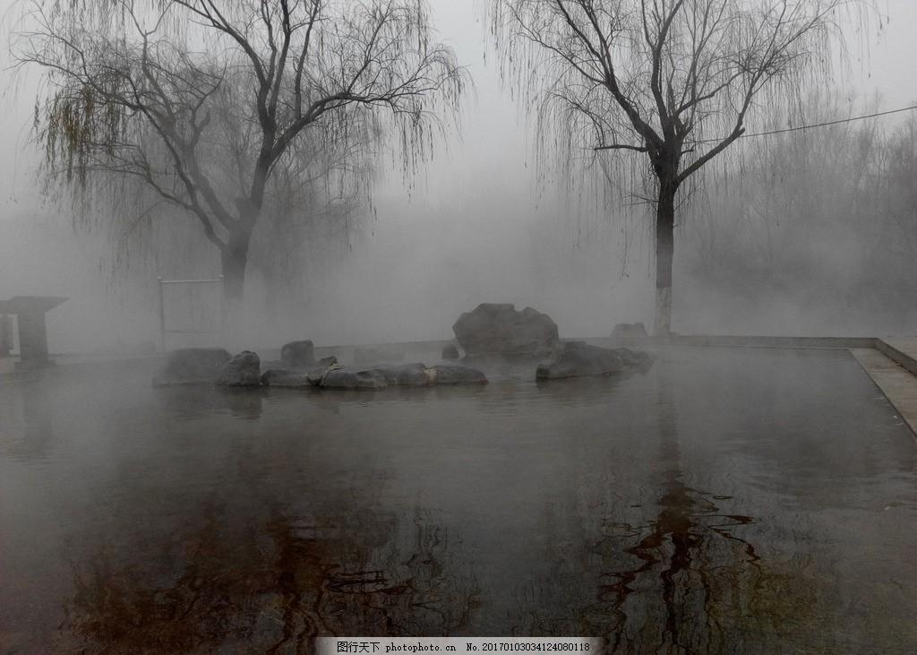 雾霾中守望 风景 美丽 山水 摄影