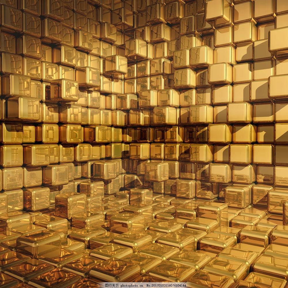 金条背景 金条背景图片素材 金砖 金色 金子 财富 财宝 金融货币