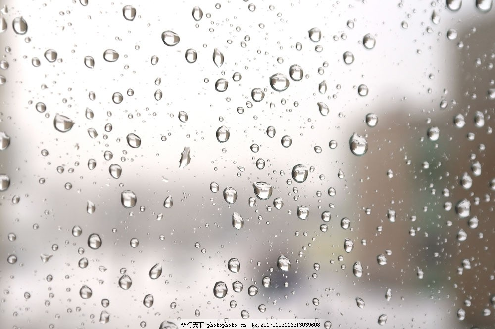 水珠 玻璃窗 雨滴 雨中 大雨 淋雨 下雨 雨天 天气 其他风光 风景图片