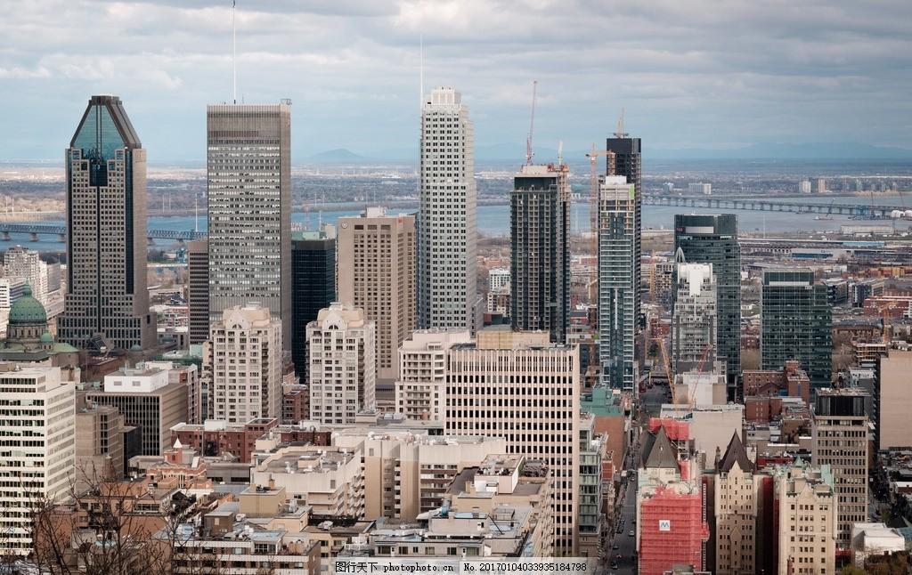 城市全景 美国 纽约 建筑 小镇 风景 景观 景色 高楼大厦 高楼林立