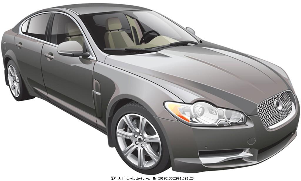 灰色时尚汽车素材图片