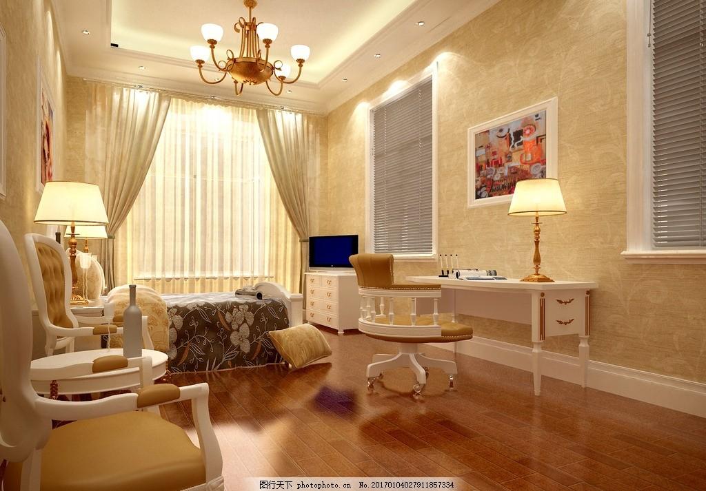 奢华儿童房效果图 装饰 装修 家装 别墅装饰 儿童房装饰 温馨舒适