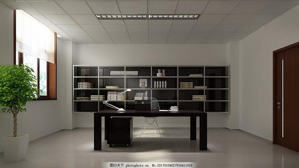 经理办公室装饰设计 装修 领导办公室 效果图 室内设计效果图未分类