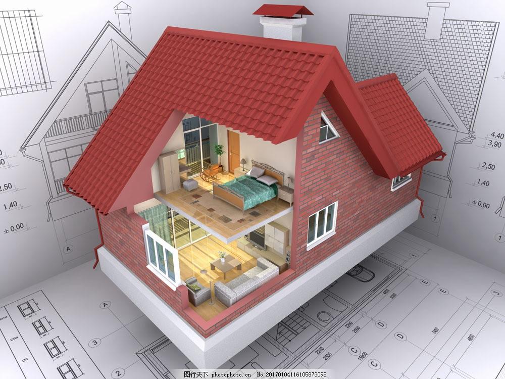 三维房屋效果图图片