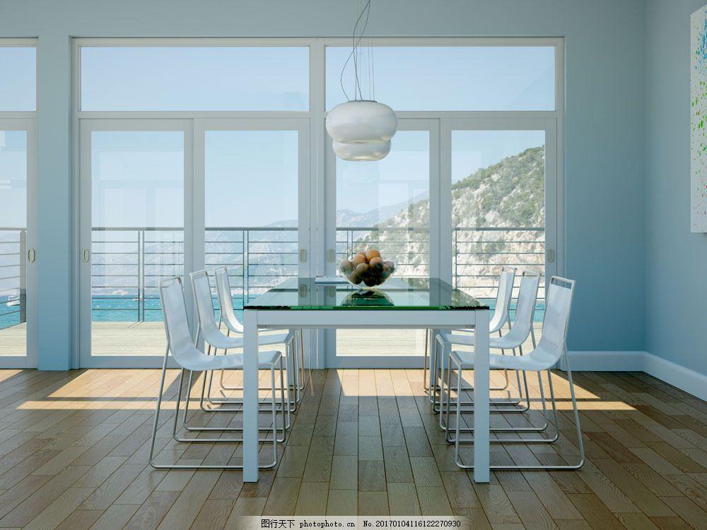 白色系列客厅装潢设计图片