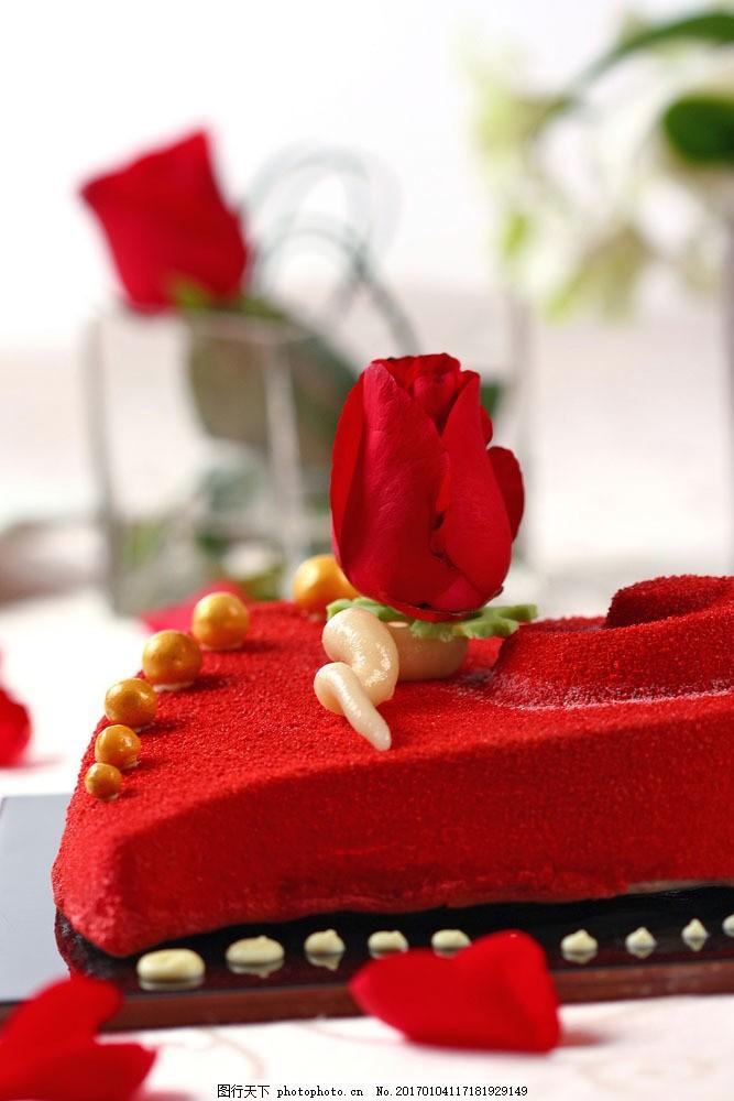 玫瑰花蛋糕图片图片