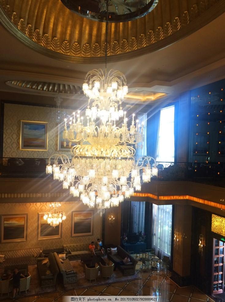 欧式水晶吊灯 水晶灯 酒店大堂 奢华 豪华吊灯 五星级酒店 会所