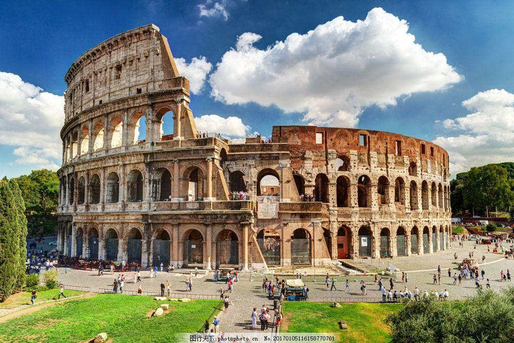罗马建筑 罗马建筑图片素材 罗马城市 罗马风景 城市风景 欧式建筑