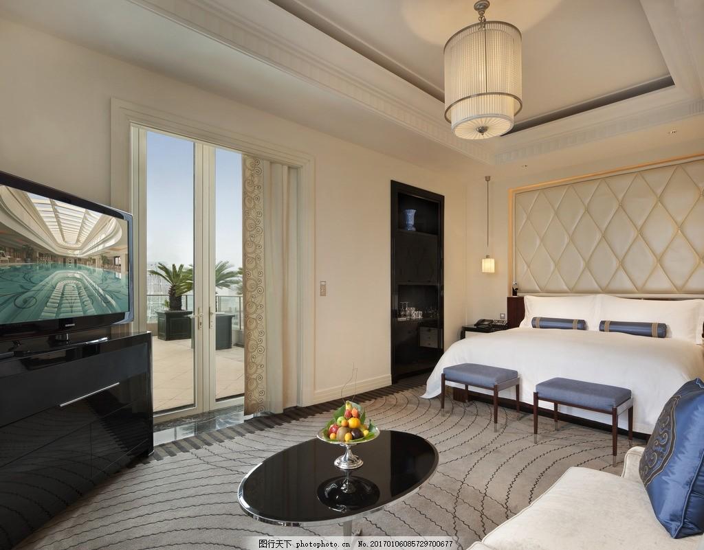上海半岛酒店 礼查套间 豪华套房 休闲客厅 豪华餐厅 豪华大床