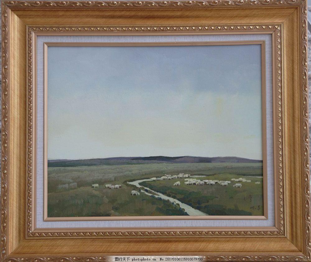 风景油画图片素材 油画 油画写生 绘画艺术 风景油画 风景写生 装饰画