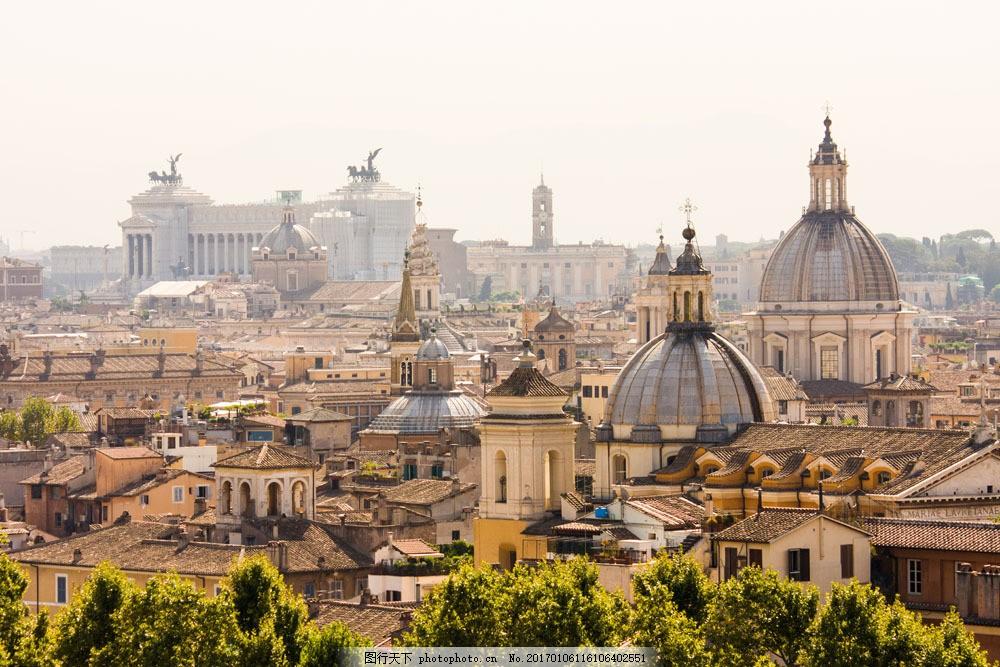 美丽的罗马古城图片