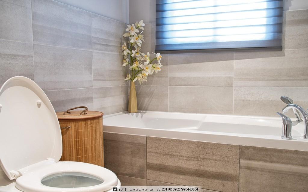 洗手间 唯美 家居 家具 欧式 简洁 简约 浪漫 马桶 浴缸