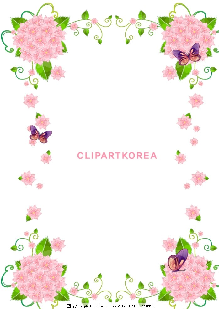粉色小花背景 粉色花儿 粉色背景 小花素材 紫色花儿 卡通花儿