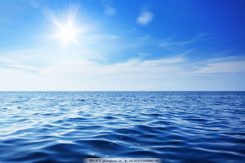 蓝色的海 蓝色的海图片素材 大海风景 海洋风景 海面风景 海水