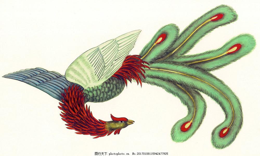 国画凤凰 国画凤凰图片素材 水墨画 名画 中国画 绘画艺术 装饰画