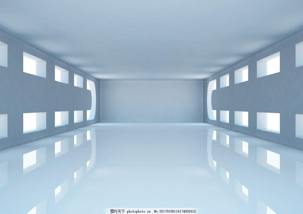 房子空间室内图片素材 白色房子室内 空间背景 房间背景 空房子 室内