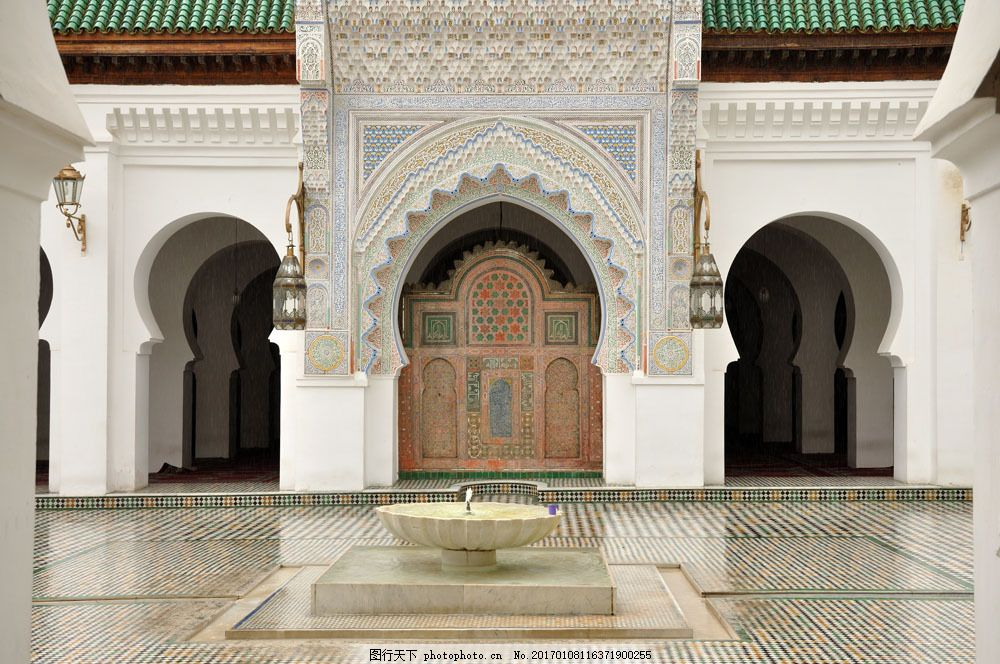 摩洛哥建筑图片素材 中东 特色建筑 地域文化 信仰 摩洛哥 风景名胜