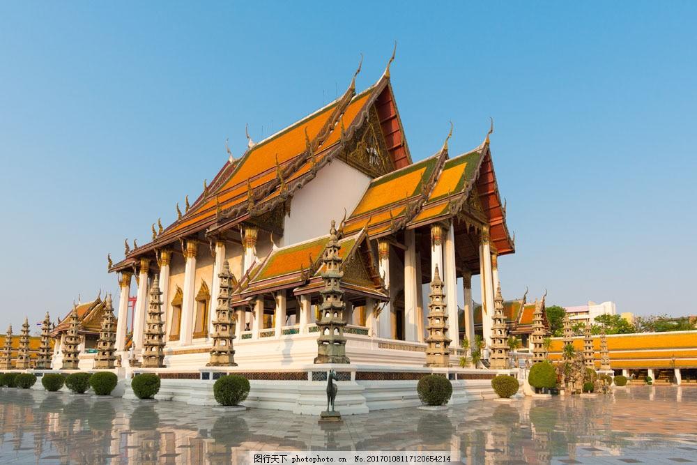 泰国寺庙建筑风景图片