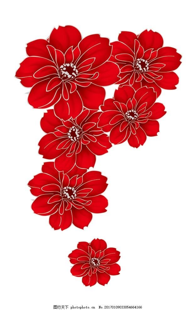 剪纸小红花步骤图片大全
