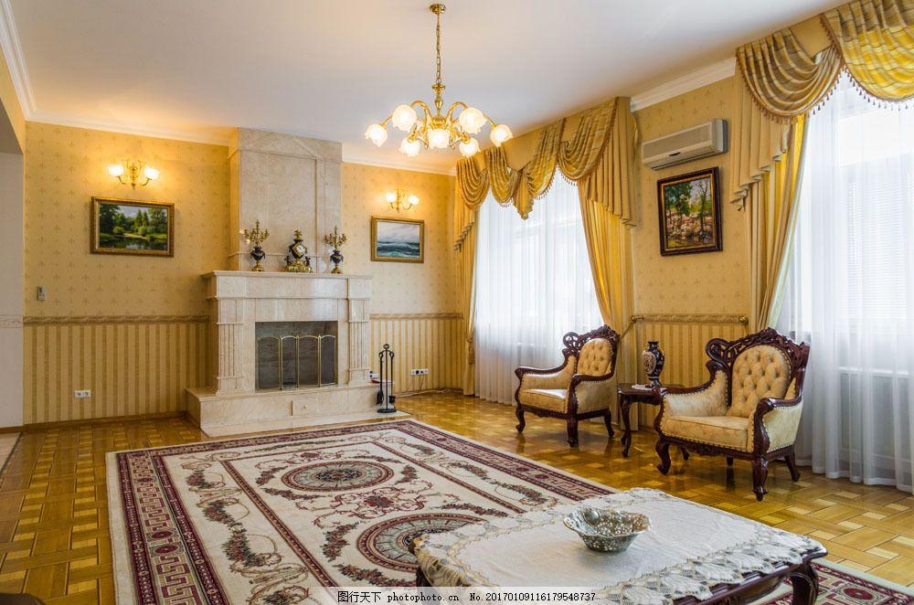 欧式复古室内设计图片