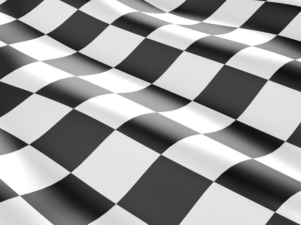 黑白色赛车旗帜 黑白色赛车旗帜图片素材 黑白色旗帜 格子 汽车图片