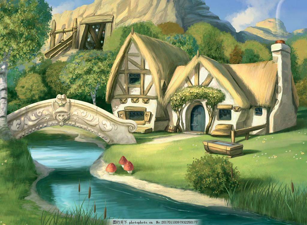 童话城堡壁纸,高清大图 空间建筑 装饰设计 风景 高