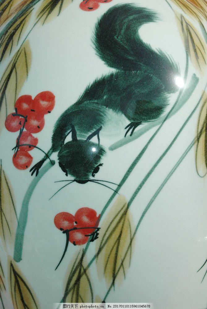 手绘松鼠素材 手绘松鼠素材图片素材 国画 油画 插画 装饰画 无框画