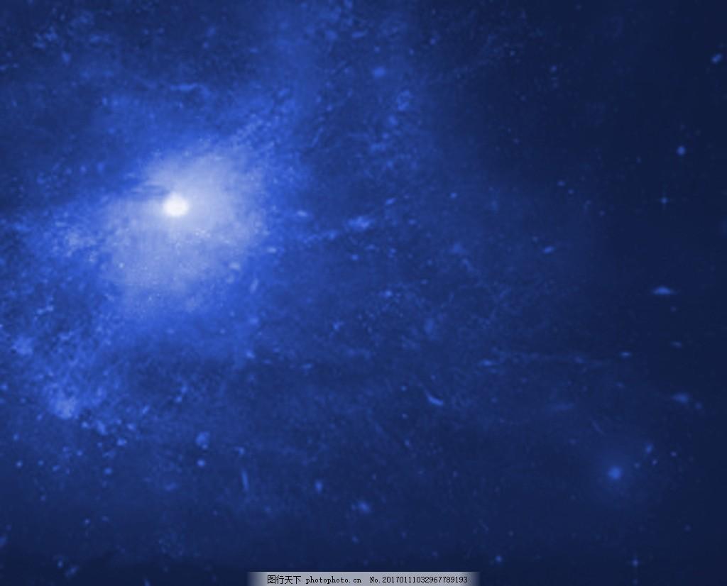 星空 明月 月光 夜空 星星 设计 psd分层素材 背景素材 72dpi psd