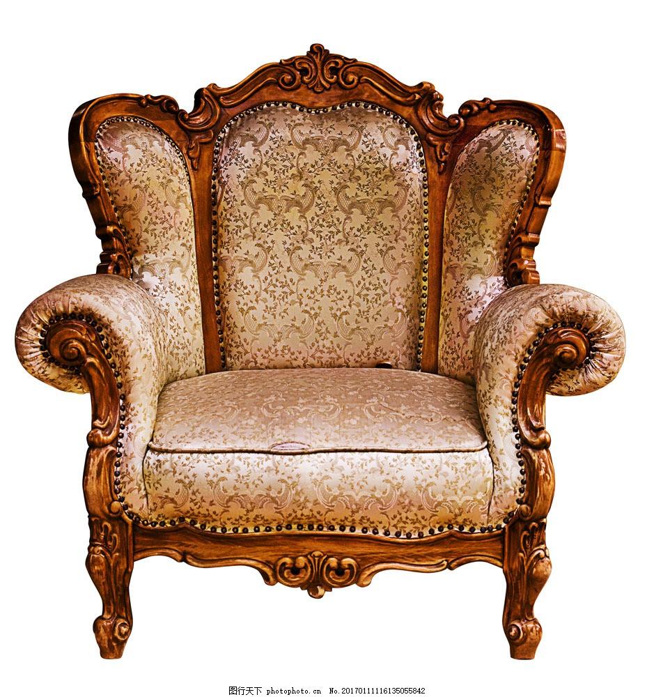 经典尊贵皮质沙发图片素材 尊豪 豪华 富贵 欧式风格皮椅