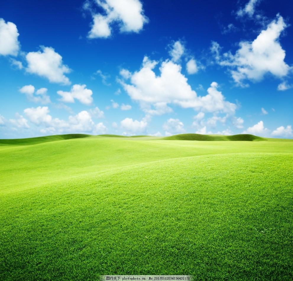 白云 天空 晴天 云朵 蓝天背景 绿色环保 环保背景 绿色背景 自然风景