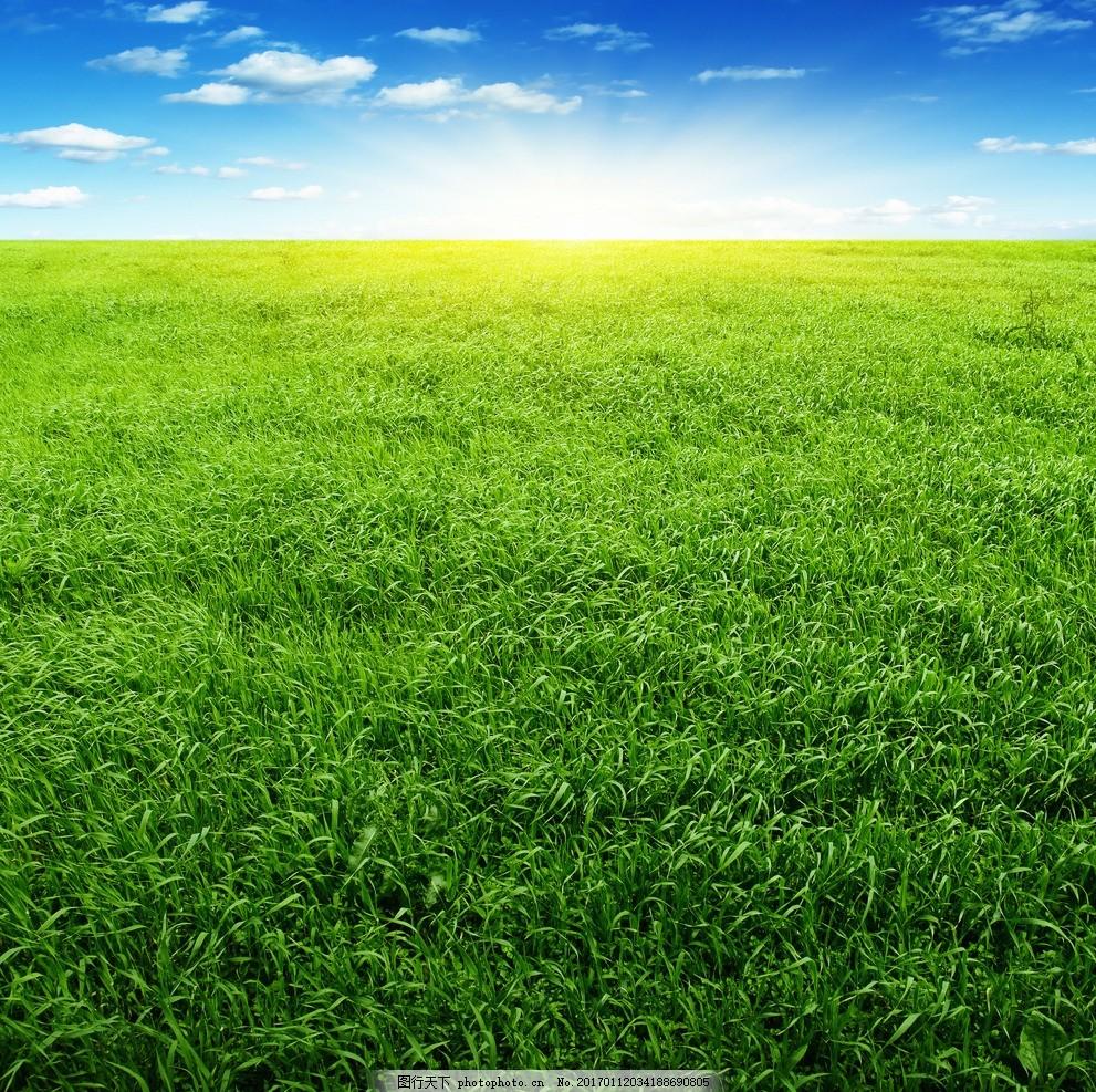 晴天 云朵 蓝天背景 绿色环保 环保背景 绿色背景 自然风景 美丽大