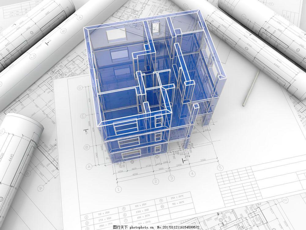 楼房 房子 建筑 模型 图纸 设计图 建筑设计 建筑设计 环境家居 3d