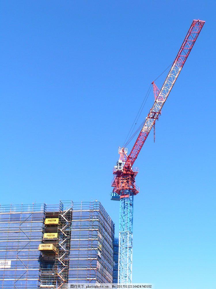 起重机 起重机图片素材 工业生产 塔吊 现代科技