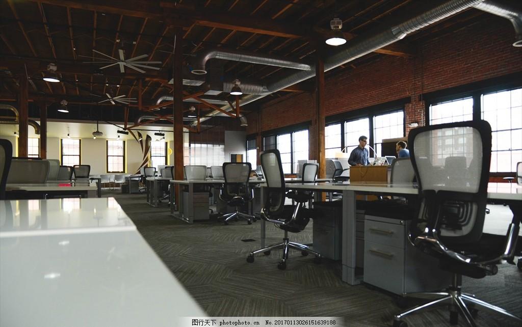 家庭工作室 个性办公室 欧式风格 会议厅 摄影 学习办公