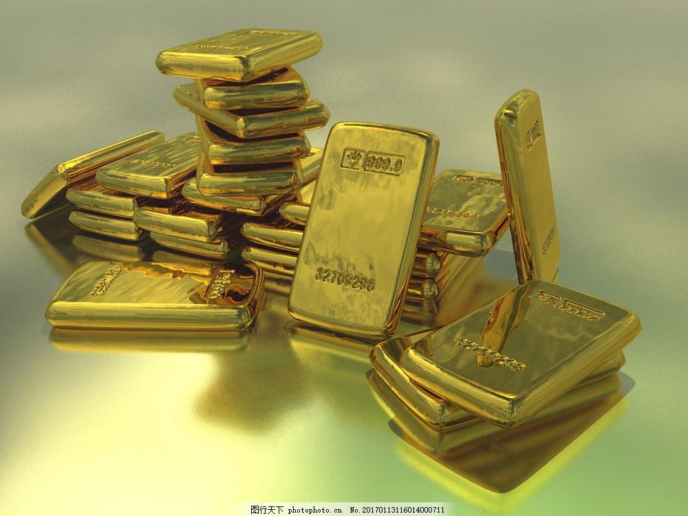 金砖摄影 金砖摄影图片素材 黄金 金条 金子 财富 财宝 金融货币