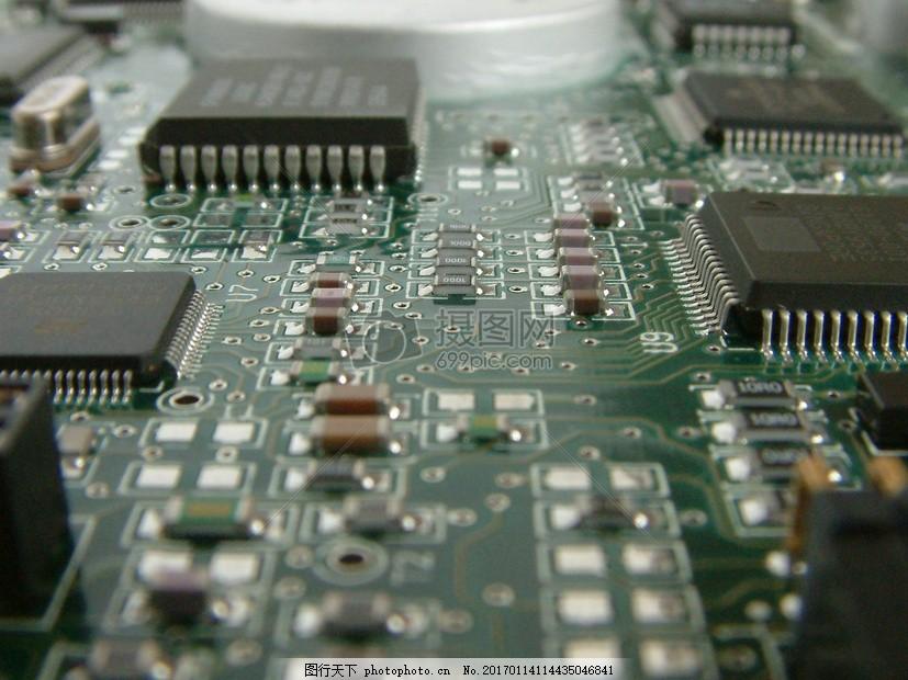 电路 计算机 板 电路板 技术 芯片 处理器 主板     红色 jpg