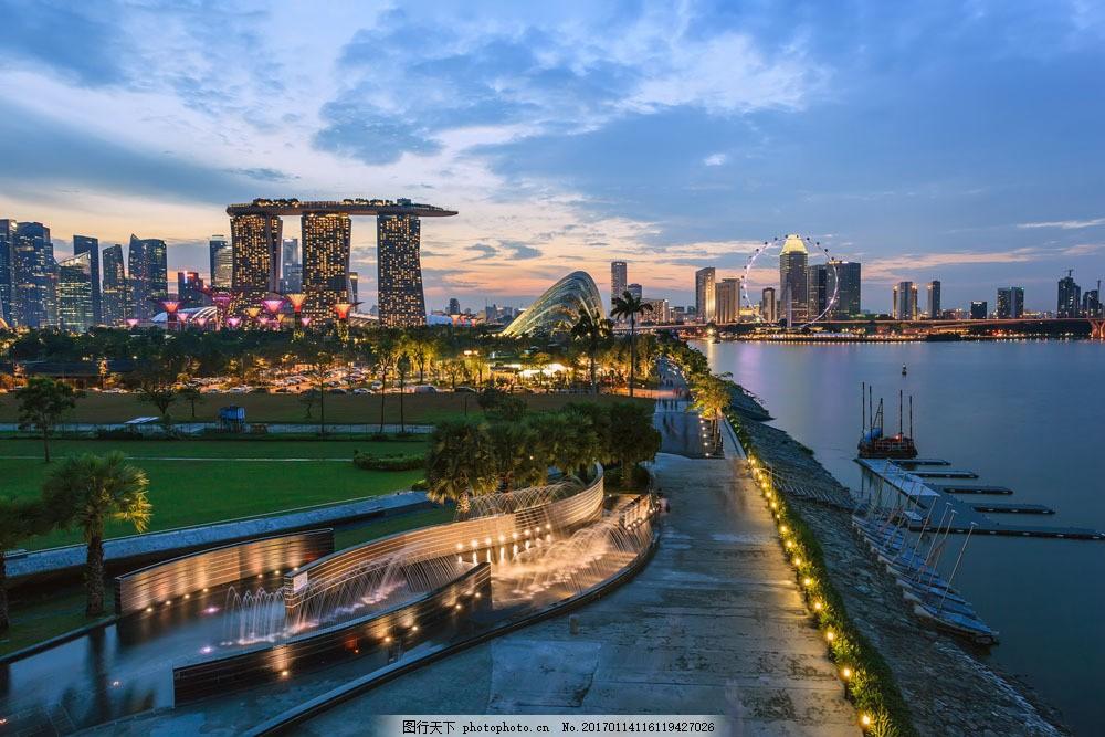 美丽新加坡风景图片