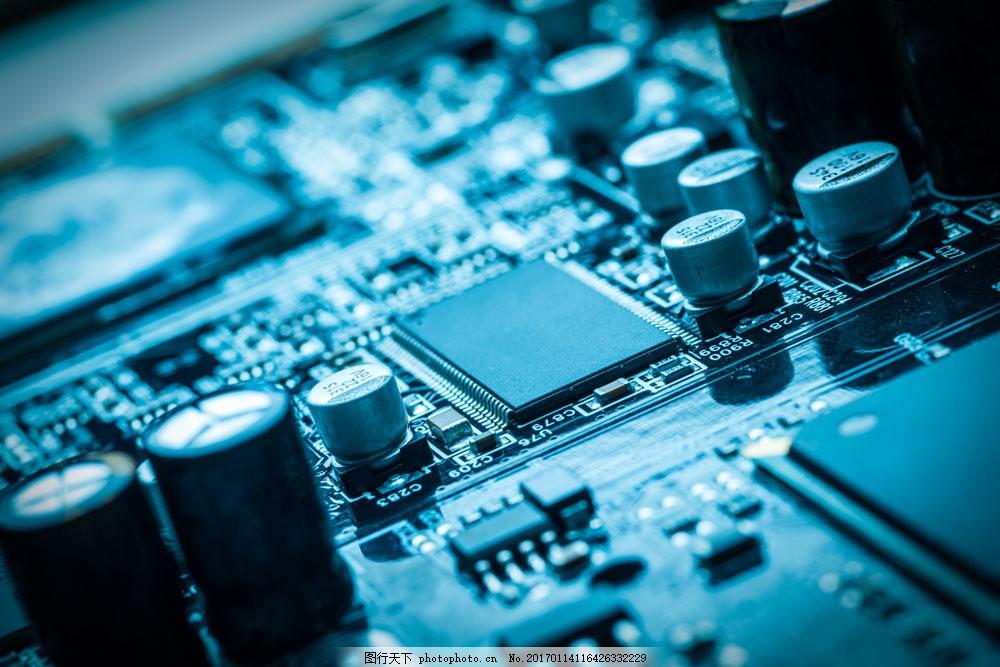 电阻与芯片图片素材 电脑芯片 电阻 cpu 中央处理器 电脑零件 电脑