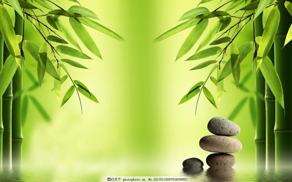 竹子绿色装饰背景墙 壁纸 风景 高分辨率图片 高清大图 建筑 装饰设计