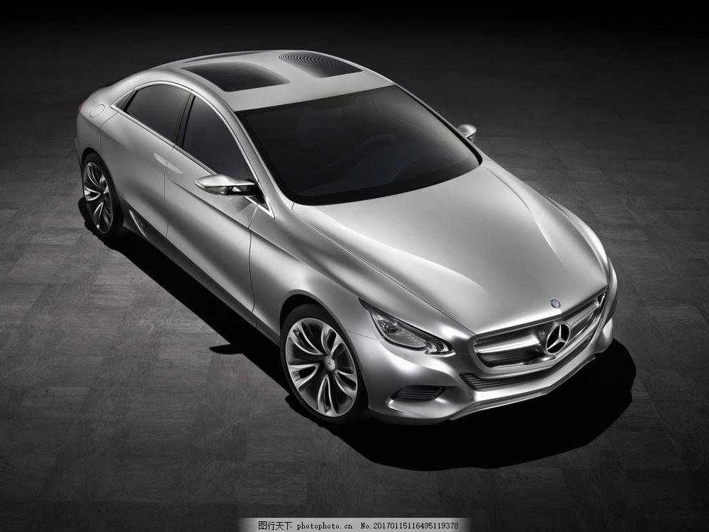 灰色奔驰图片素材 汽车 汽车摄影 汽车素材 名车 时尚汽车 汽车模型