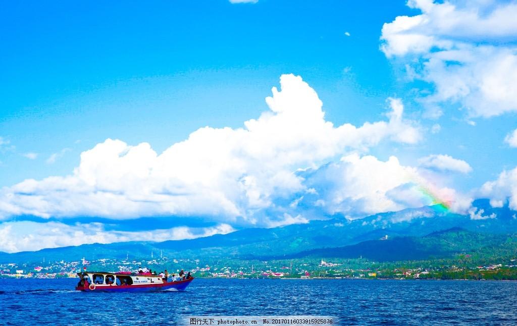美娜多旅游 海岛 海岛旅游 蓝天白云 海景 摄影 国外旅游