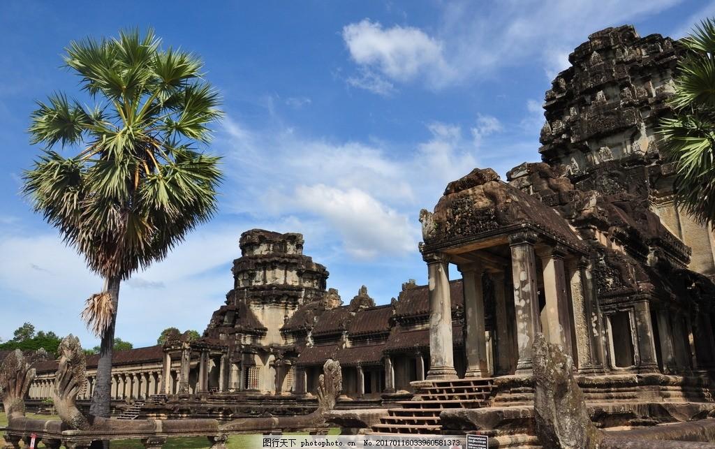 柬埔寨暹粒 吴哥窟 女王宫 柬埔寨吴哥窟 暹粒吴哥窟 吴哥古迹