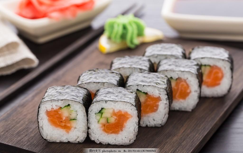 美味寿司图片手绘