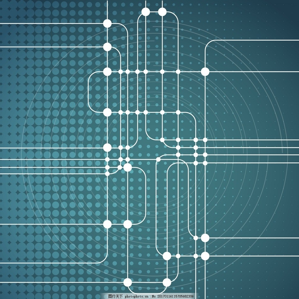 电子电路背景 线路 电子 芯片 数据 纹理 设计 底纹边框 背景底纹 ai