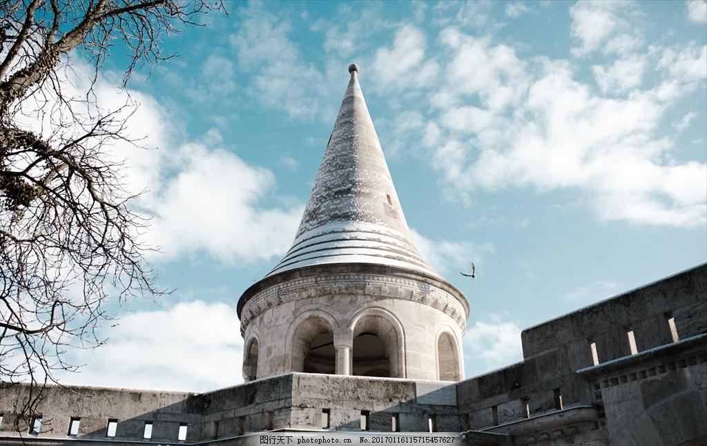 圆顶建筑 尖顶房子 欧式建筑 教堂 寺庙 宗教 风景 摄影 建筑园林