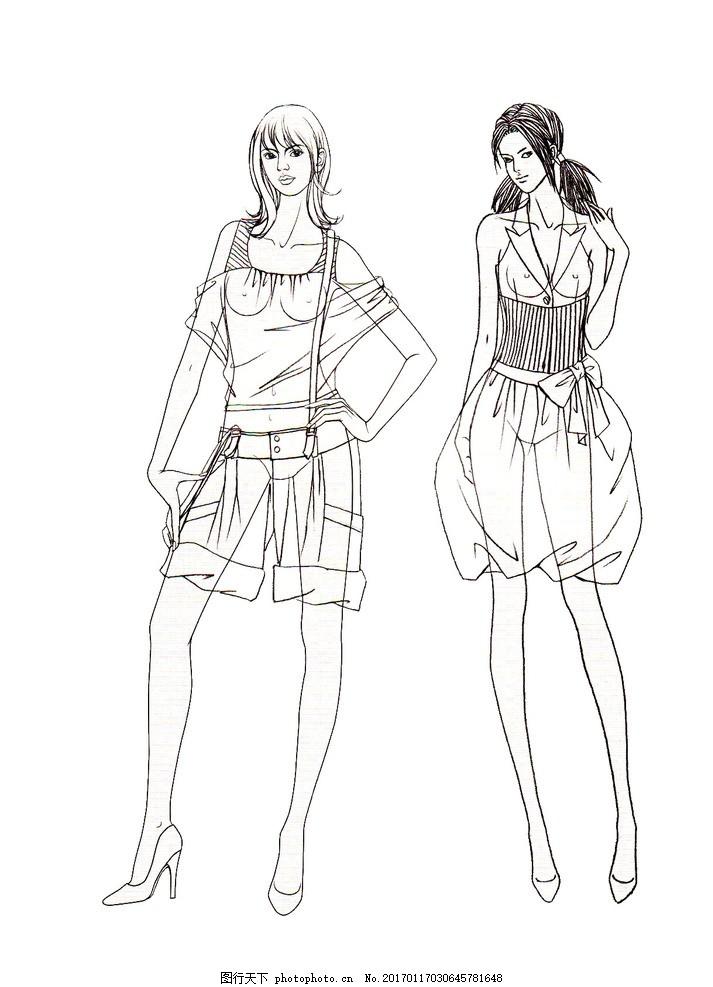 时装画 时装效果图 服装画 电脑时装画 电脑服装画 ps时装画 服装
