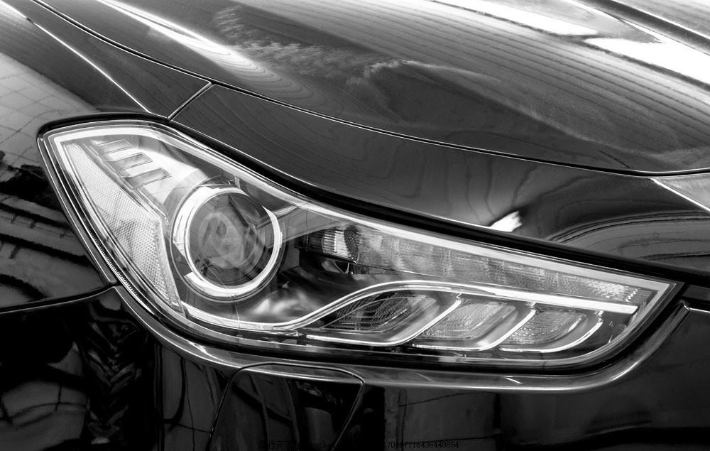黑色车灯特写图片素材 黑色 车灯特写 酷炫车灯 轿车 汽车 小车 车辆