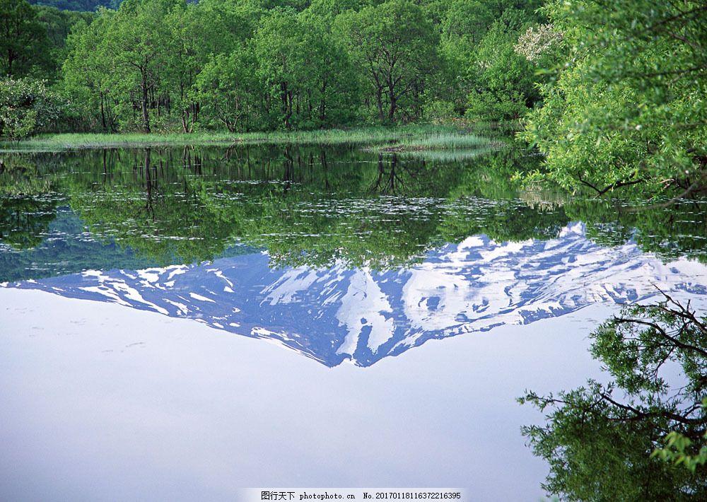 自然风景 风景摄影 大自然 美景 景色 山水风景 树林 湖泊 倒影 湖水